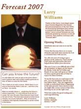 Cover Forecast 2007