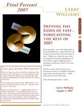 Cover Final Forecast 2007
